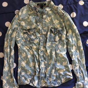 Forever21 chambray shirt